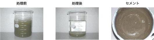 【 コンクリート工事濁水処理 】 水夢(ノーマル)「コンクリート排水」タイプ 添加量200ppm
