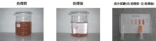 【 鉄(赤水)除去処理 】 水夢(重金属類)「鉄」タイプ 添加量200ppm
