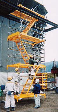 スーパーラダー(チェン式吊階段)