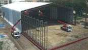 土壌改良対策用 W:24.5m×L:58.56m×H:6.5m